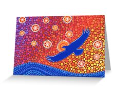 The Spirit of Sunset Greeting Card