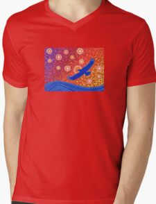 The Spirit of Sunset Mens V-Neck T-Shirt