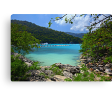 Bay of Labadee, Haiti Canvas Print