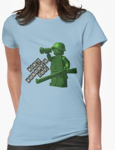 Ain't Nobody's Toy Womens Fitted T-Shirt