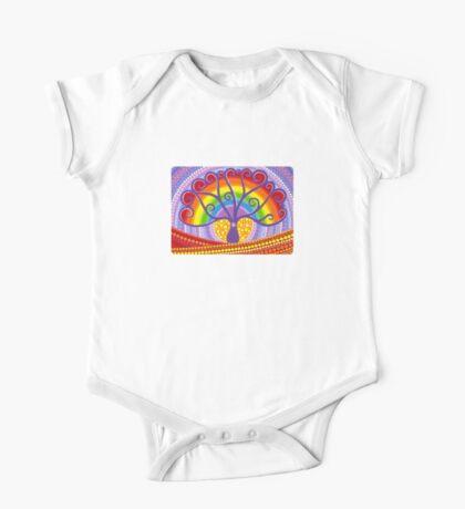 Rainbow Boab Tree of Life One Piece - Short Sleeve