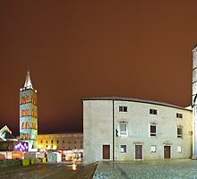 Low clouds in Zadar by Ivan Coric