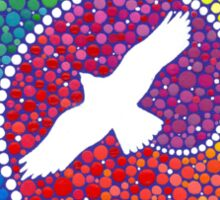 Healing magic from the flight of the Eagle Sticker