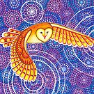 Owl Pulsating Magic by Elspeth McLean