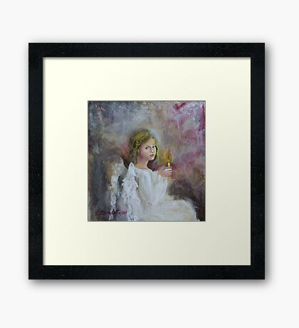 Angel (7) Framed Print