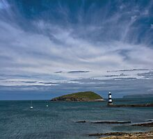 Penmon seascape by Phill Jones