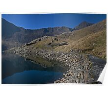 Snowdon from the miners track Poster