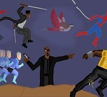 Marvel Universe by rorkstarmason