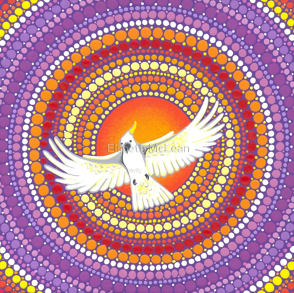 Soul Expanding Cockatoo Magic by Elspeth McLean