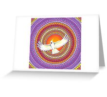 Soul Expanding Cockatoo Magic Greeting Card