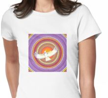 Soul Expanding Cockatoo Magic Womens Fitted T-Shirt