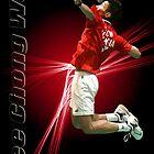 lee Chong Wei - Badminton by Alan Spink