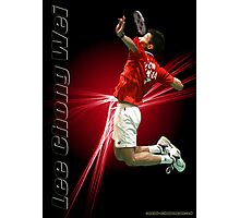 lee Chong Wei - Badminton Photographic Print