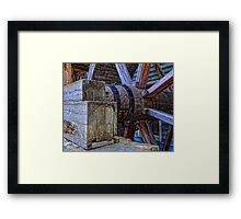 Tagget's Mill Water Wheel Framed Print