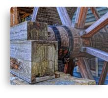 Tagget's Mill Water Wheel Metal Print