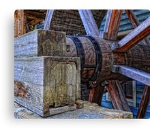 Tagget's Mill Water Wheel Canvas Print