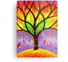 Autumn- Releasing the Old Metal Print