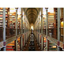 The Historical Copenhagen University Library, DENMARK Photographic Print