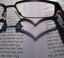 Glasses Heart by Rebecca Kingston