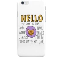 Psych- Little Boy Cat iPhone Case/Skin