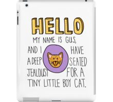 Psych- Little Boy Cat iPad Case/Skin