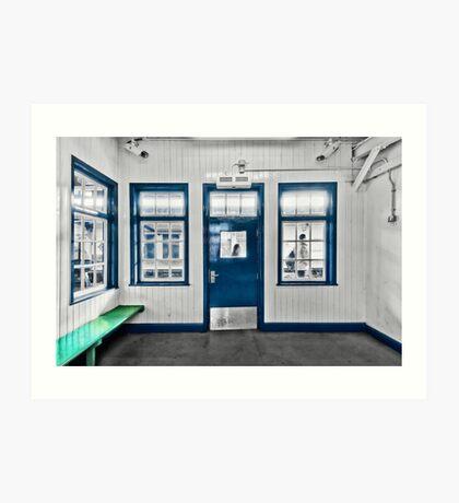 North Harrow Tube Station Art Print