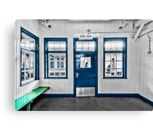 North Harrow Tube Station Canvas Print