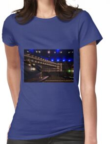 North Greenwich Tube Station Womens Fitted T-Shirt