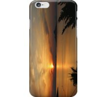 Sunset, La Manga Del Mar Menor, Spain iPhone Case/Skin