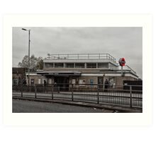 Northolt Tube Station Art Print