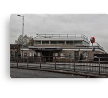Northolt Tube Station Canvas Print