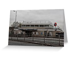 Northolt Tube Station Greeting Card
