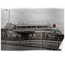 Northolt Tube Station Poster