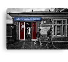 North Wembley Tube Station Canvas Print