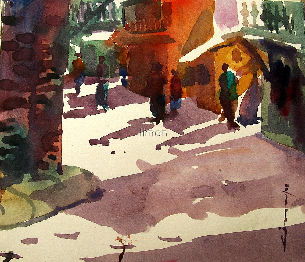 old dhaka by limon