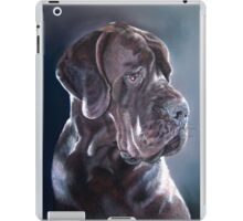 Great Dane Pastel Painting iPad Case/Skin