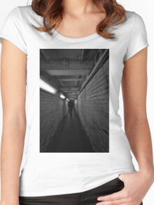Northwick Park Tube Station Women's Fitted Scoop T-Shirt