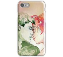 Flower and Leaf iPhone Case/Skin