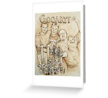 Brennan Brothers at Gogarty's Greeting Card