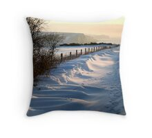 Winter Sisters Throw Pillow