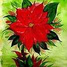 The Christmas Poinsettia by Anne Gitto