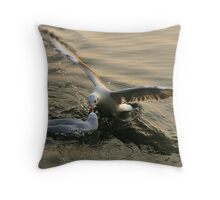gulls1 Throw Pillow