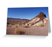 Desert Brush Greeting Card