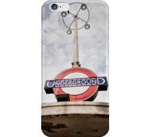 Oakwood Tube Station iPhone Case/Skin