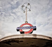 Oakwood Tube Station by AntSmith
