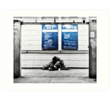 Old Street Tube Station Art Print