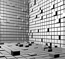 3D Cubes Background  by Atanas Bozhikov NASKO