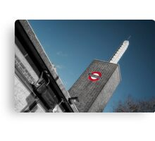 Osterley Tube Station Canvas Print