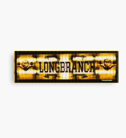 Longbranch Saloon Canvas Print