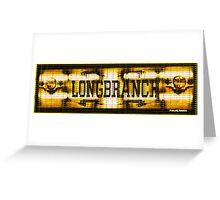 Longbranch Saloon Greeting Card